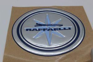 etichetta in rilievo logo 3d