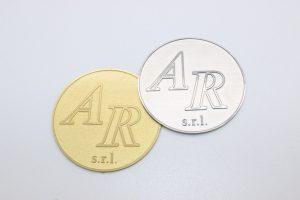 targa incisione chimica ottone e alluminio